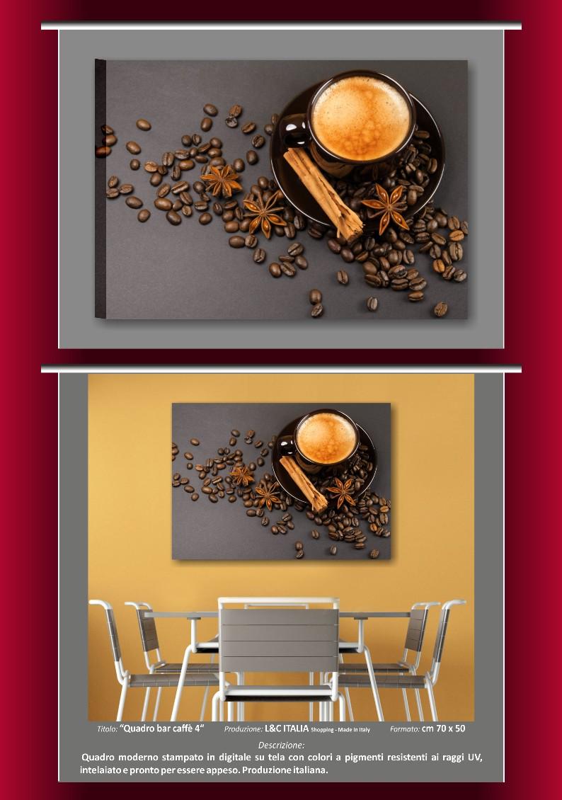Quadri bar arredo moderno 70x50 stampa quadro pasticceria for Ebay quadri