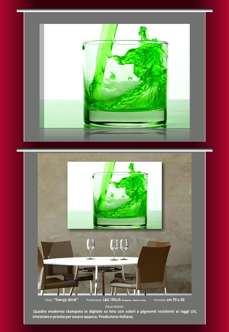 Cadres meubles moderne 70x50 impression peinture salon bar for Meuble bar a boisson