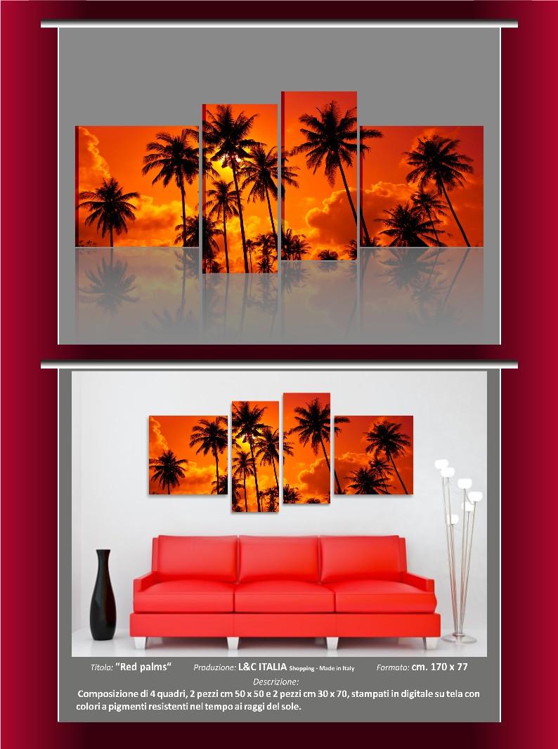 Quadro moderno su tela xxl 170x77 cm astratti benessere for Poster arredo casa