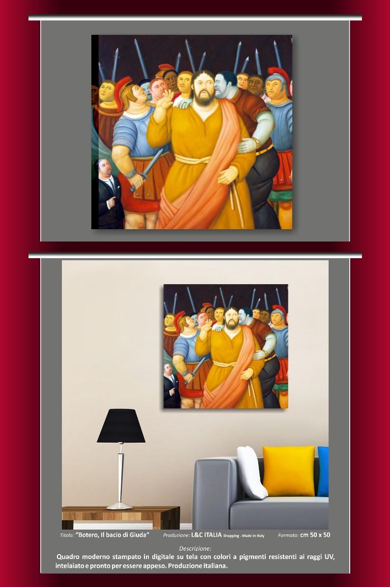 Fernando botero quadri moderni stampa su tela riproduzione - Stampe botero bagno ...