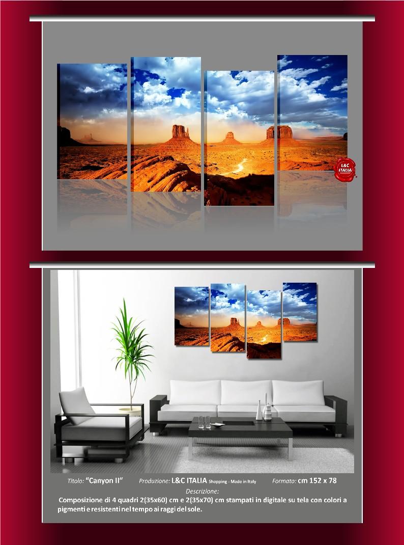 Quadri moderni paesaggi 150x78 arredamento quadro tela for Ebay quadri